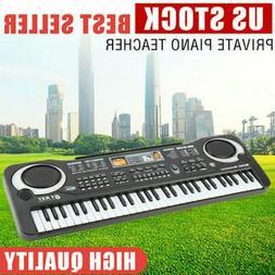 61 Key Digital Music Electronic Keyboard Kids Electric Piano