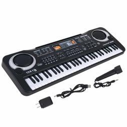 61 Key Digital Music Electronic Keyboard Kids Electric Organ