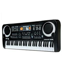 61 Keys Music Keyboard Digital Electronic Key Board Electric