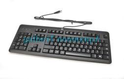 672647-BB3 OEM HP Hebrew Israel USB Wired Desktop Keyboard K