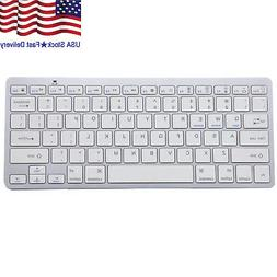 Wireless Bluetooth V3.0 Slim Keyboard for PC iOS iPads Andro