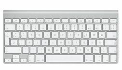 a1314 bluetooth wireless silver slim mini keyboard