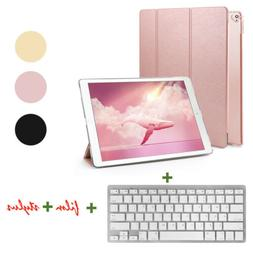 """For iPad Pro 12.9"""" 2017/2015 Leather Stand Case Cover +Backl"""
