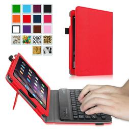 Fintie Apple iPad Removable Keyboard Case SlimShell Leather