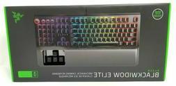Razer BlackWidow Elite USB Gaming Keyboard with Green Switch