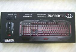 ASUS Cerberus Keyboard Mouse Gaming Combo Black English/Russ