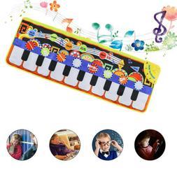 Early Kids Music Piano Toy Singing Game Mat Children Keyboar