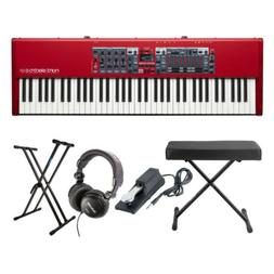 Nord Electro 6HP 73 Key Keyboard with Stand, Bench, Sustain
