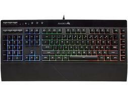 Corsair Gaming K55 RGB Keyboard, Backlit RGB LED