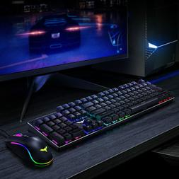 Havit Mechanical Gaming Keyboard and Mouse Combo Blue Switch