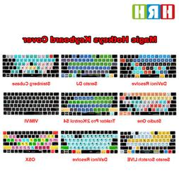 Hotkeys Keyboard Cover Silicone Skin Protector For Apple Mag