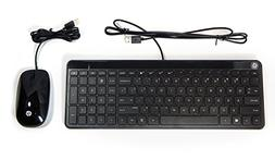 HP Galeras USB Slim Keyboard & Mouse Wired 801526-001