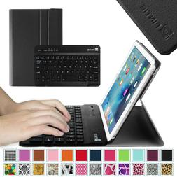 For iPad mini 4 Keyboard Case SlimShell Cover with Detachabl