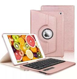iPad Mini 5 / 4 Keyboard Case Bluetooth Keyboard KVAGO-360 R
