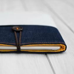 NEW iPad Air 10.9 A14 Sleeve Denim Case 12.9 11 9.7 form-fit