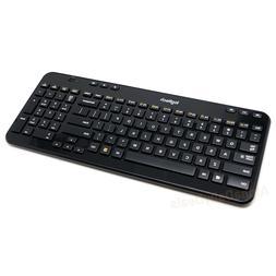 Logitech K360 Compact Slim Wireless Desktop Keyboard - Black