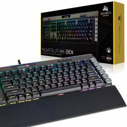 k95 rgb platinum gaming keyboard 6x programmable