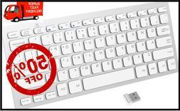 KEYBOARD 2.4G Ultra-Slim Wireless Keyboard for Windows with