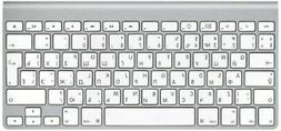 Apple KEYBOARD WIRELESS NON NUMERIC BLUETOOTH SILVER RUSSIAN
