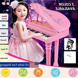 Kids Electronic Keyboard 31 Key Piano Musical Toy w/ Microph