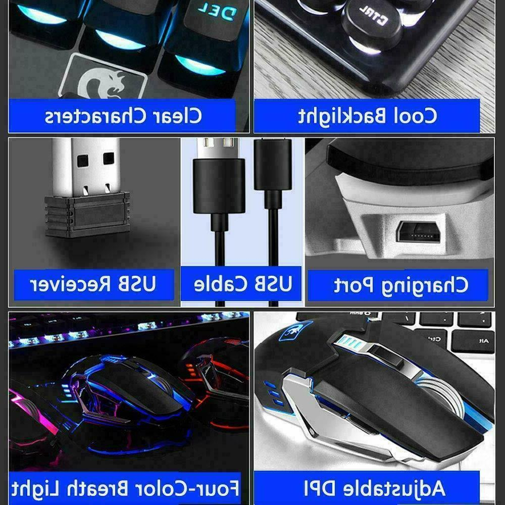 2.4G Wireless LED Keyboard