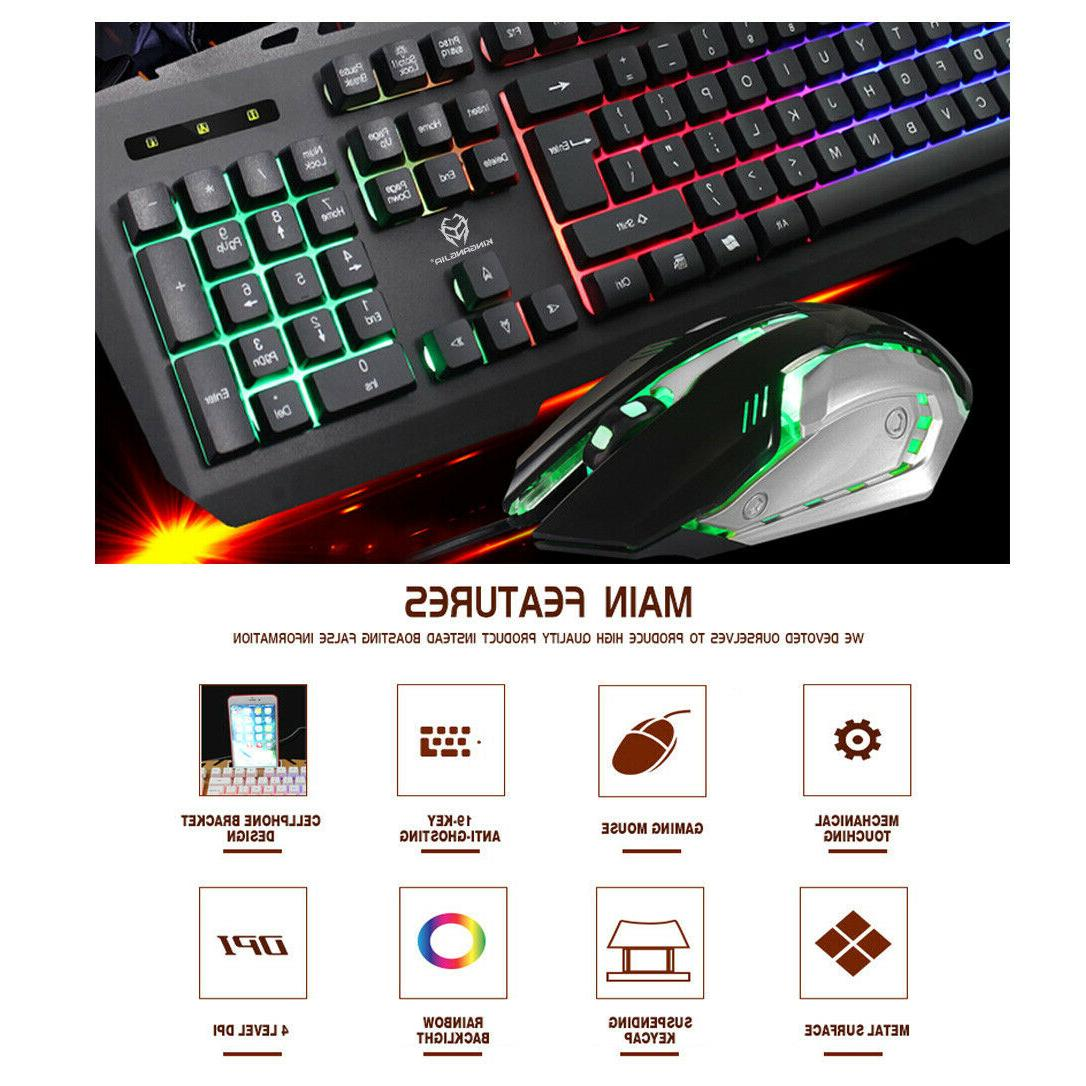 GK806 and 104Key Wrist Rest for PC