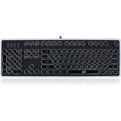 Adesso AKB-636UB Mechanical Keyboard Retro Elegant Design