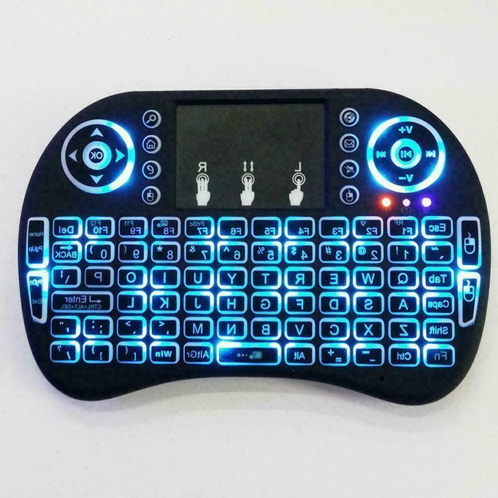 Backlight i8 2.4GHz Keyboard Remote Control Touchpad Smart