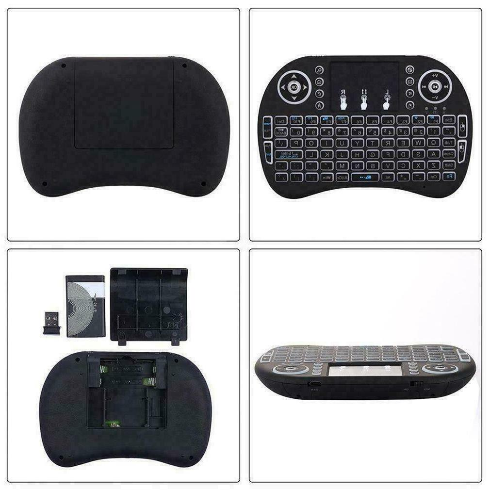 Backlight i8 Wireless 2.4GHz Remote Touchpad for