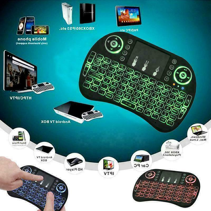 Backlight i8 2.4GHz Keyboard Touchpad for TV