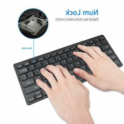 Mini One-Handed Keyboard RGB Backlit USB Accessory