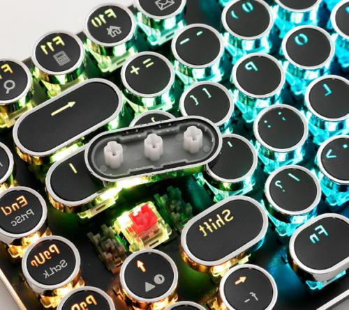 diy key cap 104 keys retro steam