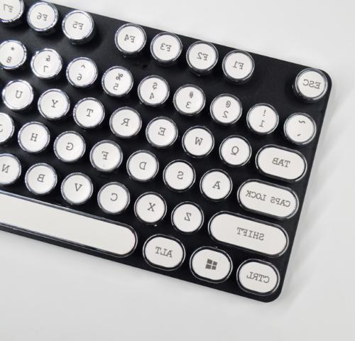 DIY Keyboardcap Retro Punk Typewriter Keycap