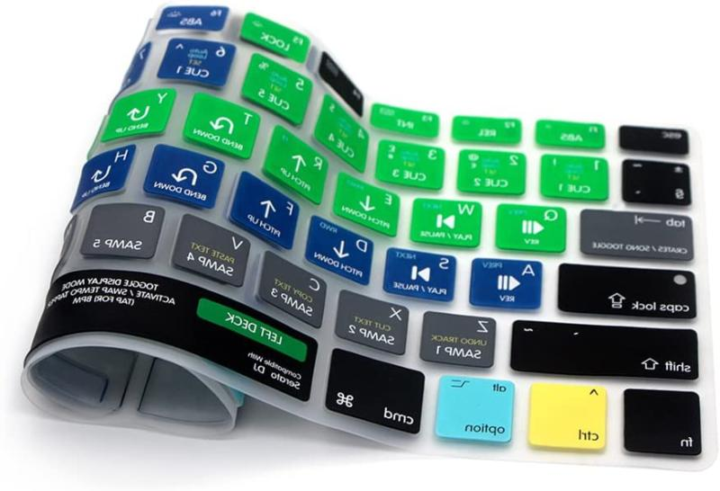 HRH DJ Shortcuts Silicone Keyboard Cover