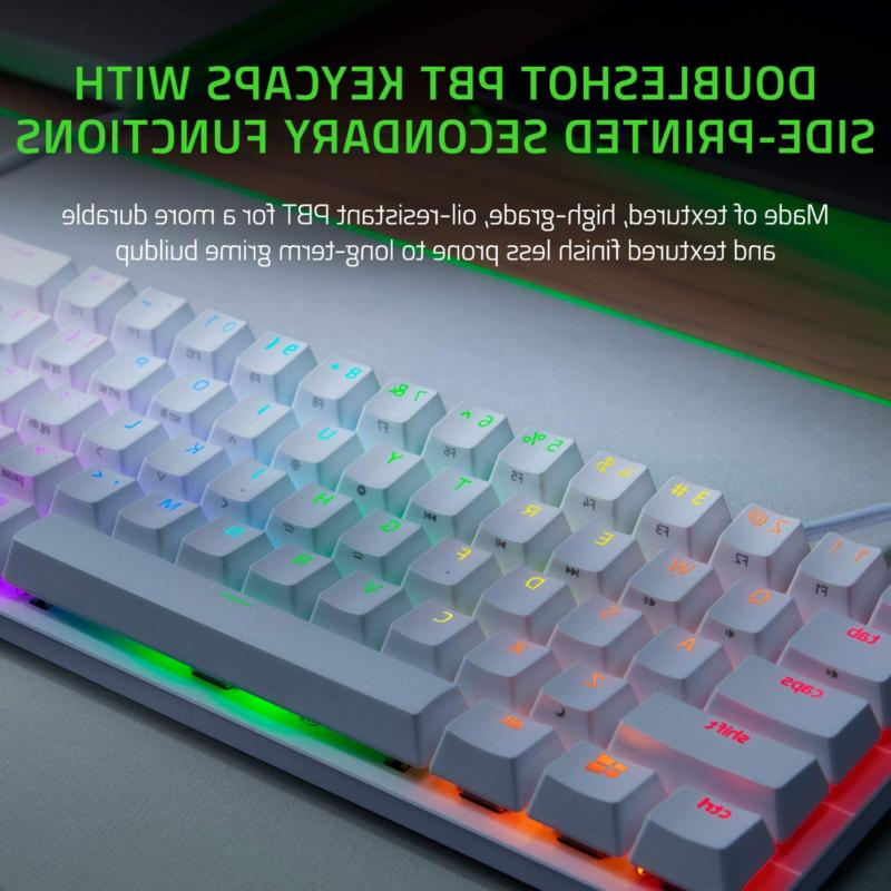 Razer 60% Gaming Keyboard Fastest Switches