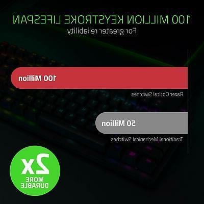 Razer Gaming Keyboard Linear Optical