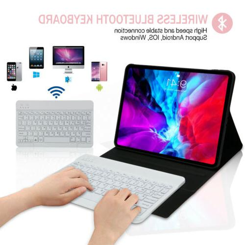 For iPad 11'' 2020 & Stand Soft Cover with Keyboard