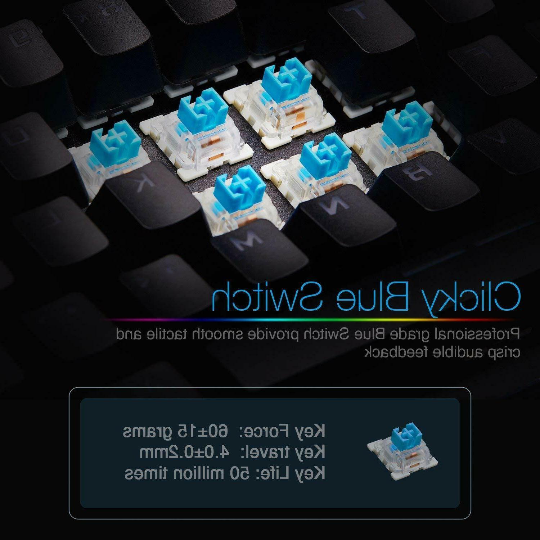 Mechanical Gaming Keyboard PC/LAPTOP