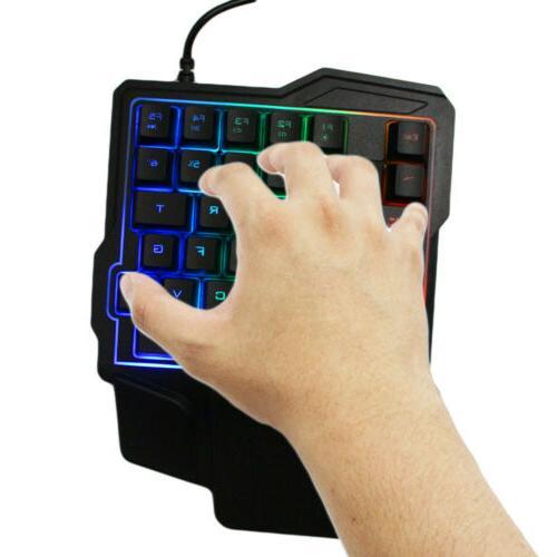 Mini Single Keyboard RGB USB 35 Accessory