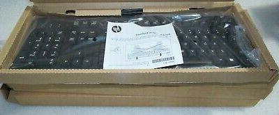 new genuine black usb keyboard 672647 003