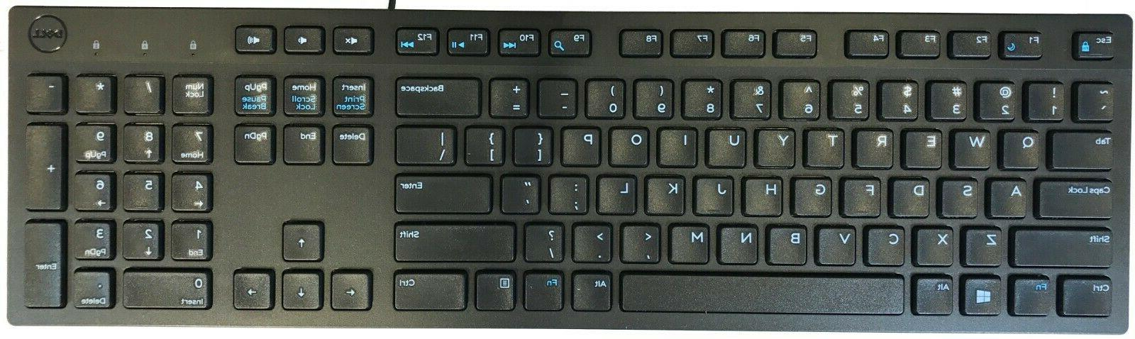 New Genuine Multimedia Keyboard Black 644G3