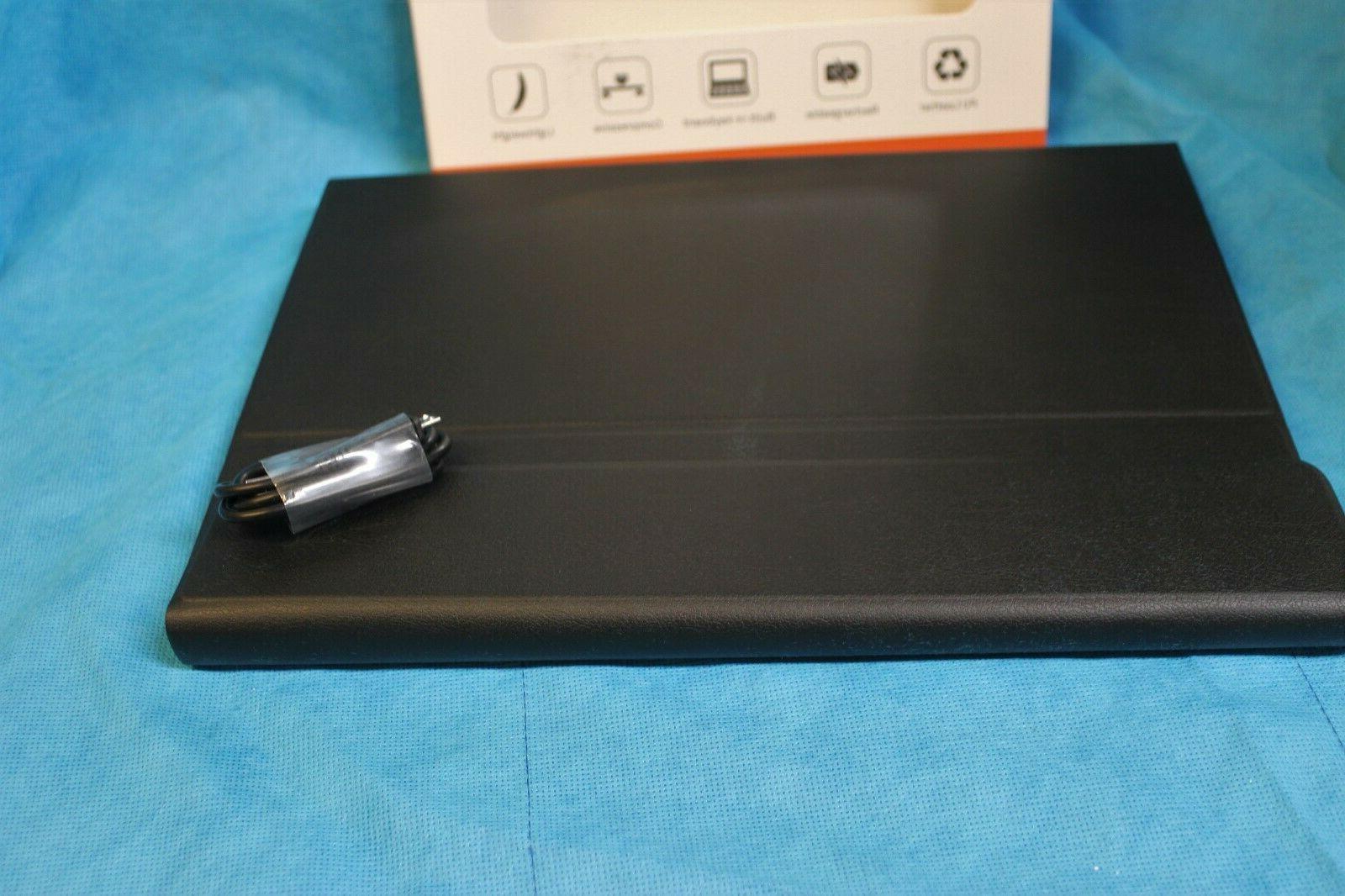"New Bluetooth Table 12.9"" Black Ionic"