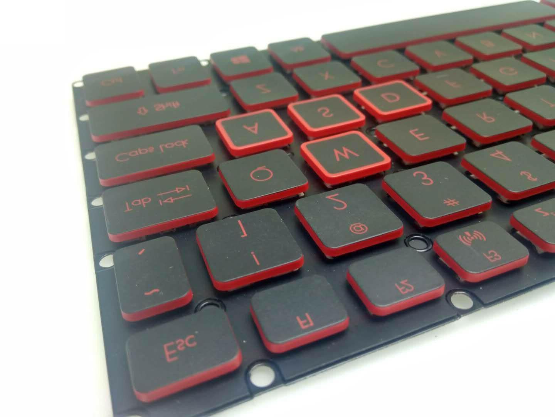 New AN515 N17C1 N17C7 Laptop Backlit Red keys
