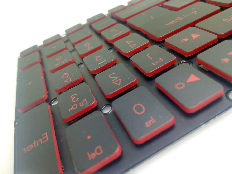 New Acer AN515 AN515-51 N17C1 N17C7 Laptop Backlit Red keys