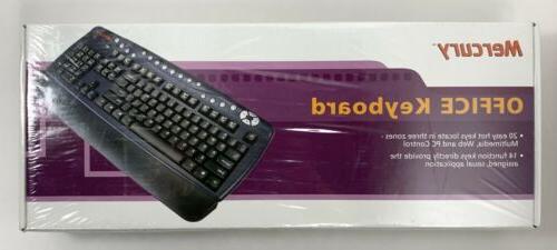 office keyboard kobian kob410 rare discontinued ps2