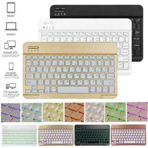 "For Samsung Tab A 10.1"" Tablet Ultra Slim Keyboard"