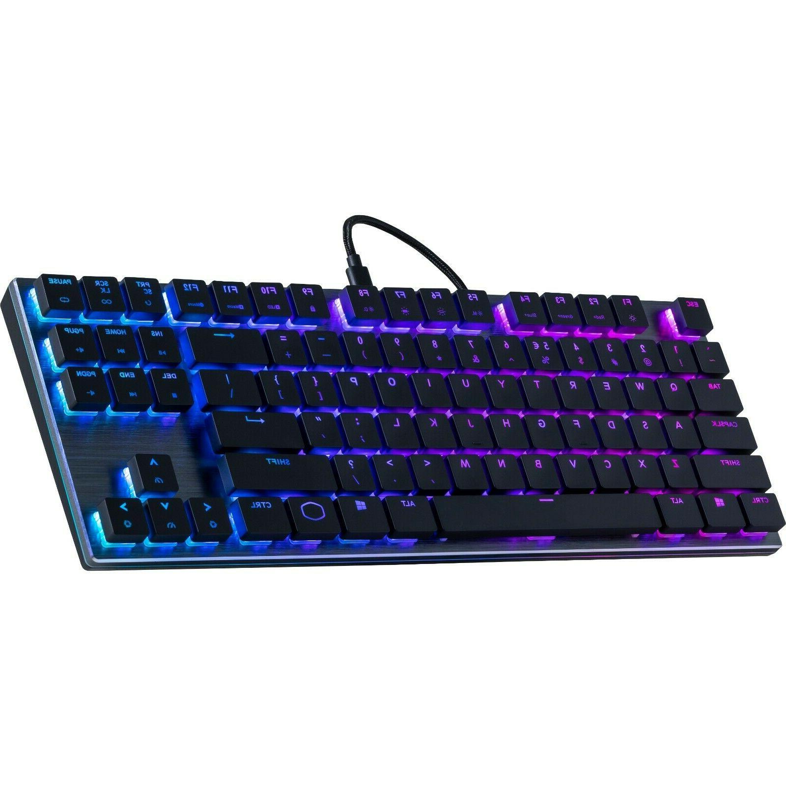 Cooler Master Black Keyboard with Cherry MX