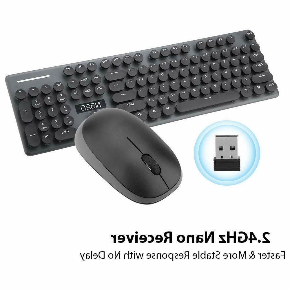 Wireless & Combo Num/Caps/Power Black