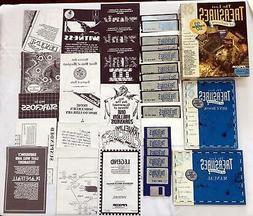 LOST TREASURES OF INFOCOM 3.5 & 5.25 Disks + Books -1991 Act