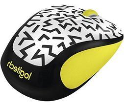Logitech M325c Wireless Mouse - Yellow zigzag 910-004689